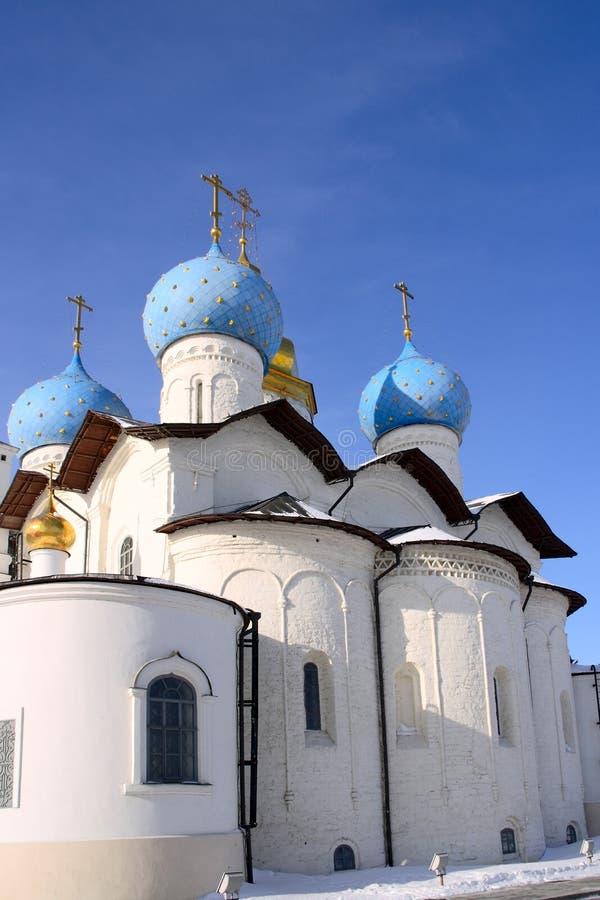Kathedraal XVIXVIII van de Aankondiging eeuwen stock afbeeldingen