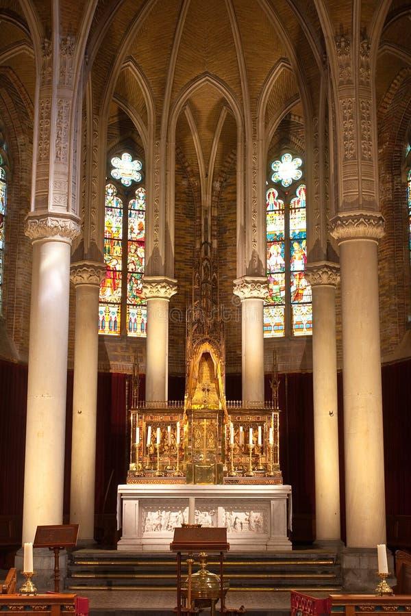 Kathedraalkoor royalty-vrije stock afbeelding