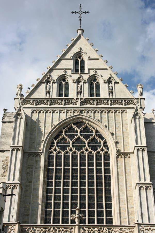 Kathedrale in Antwerpen lizenzfreie stockbilder