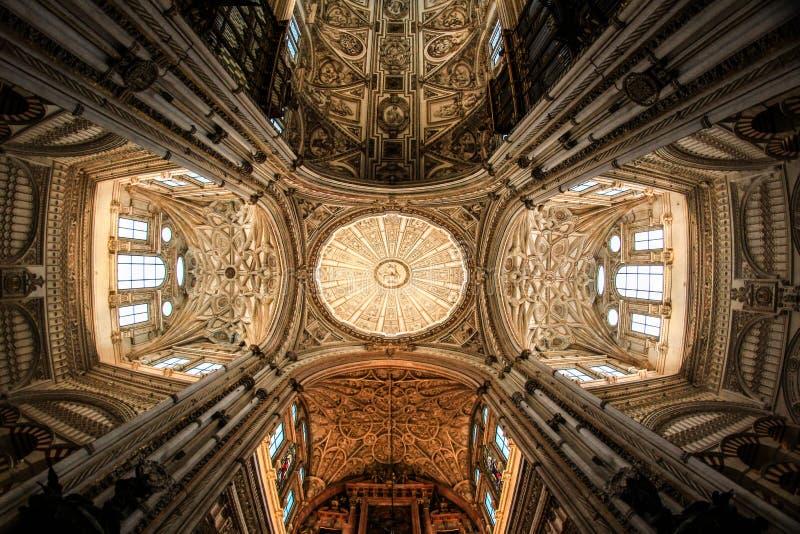 Kathedrale in Cordoba stockbild