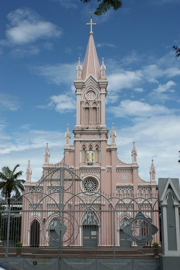 Kathedrale DA-Nang lizenzfreie stockfotografie