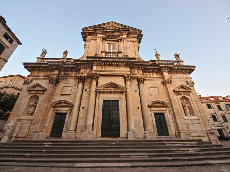 Kathedrale der Annahme von Jungfrau Maria stockbild