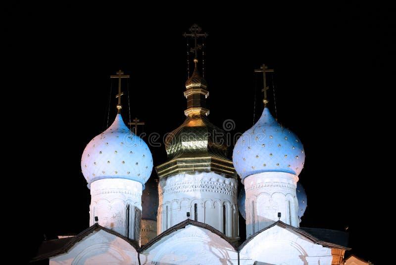 Kathedrale der Anzeige im Kazan Kremlin lizenzfreie stockfotografie