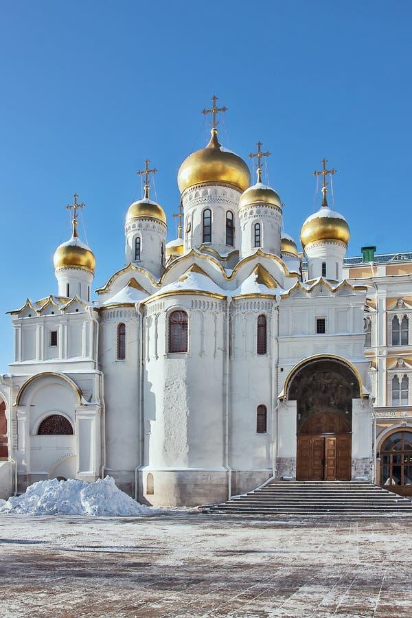 Kathedrale der Anzeige, Moskau stockfotografie
