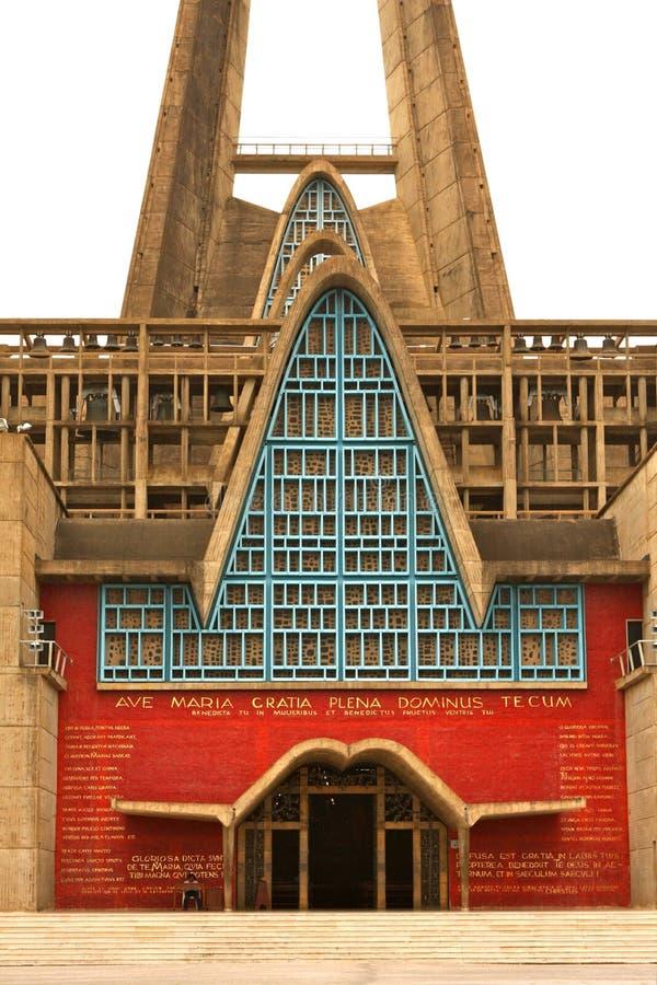 Kathedrale in der Dominikanischen Republik - Higuey stockfoto