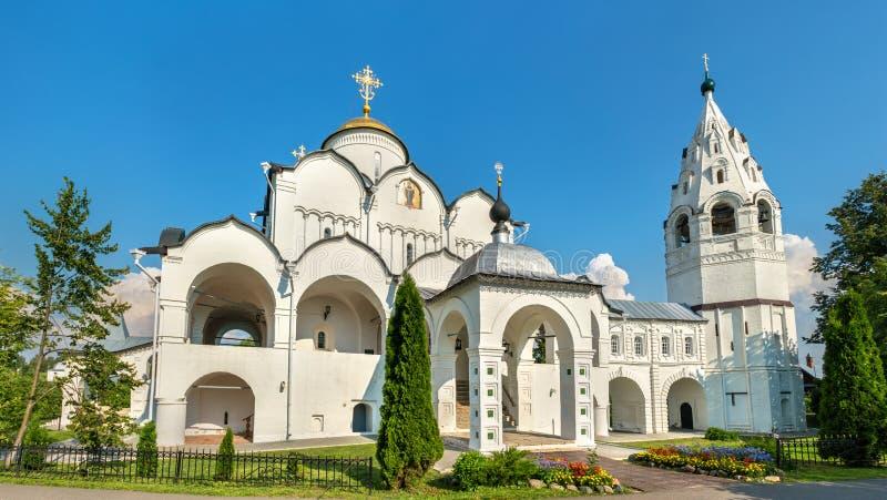 Kathedrale der Fürbitte des Theotokos in Suzdal, Russland stockbild