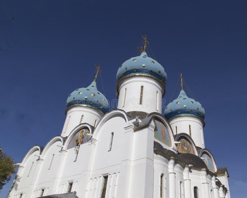 Kathedrale der Jungfrau Maria in Sam-sergei Abtei, Russische Föderation lizenzfreie stockfotografie
