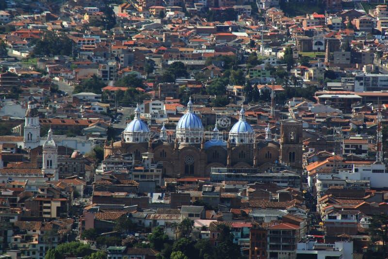Kathedrale der Unbefleckten Empf?ngnis in Cuenca lizenzfreies stockfoto