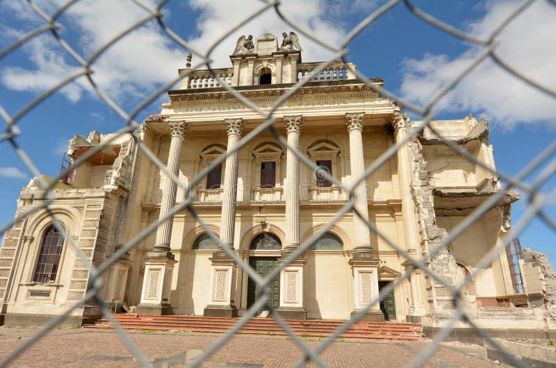Kathedrale des gesegneten Sakraments, Christchurch Neuseeland lizenzfreie stockfotos