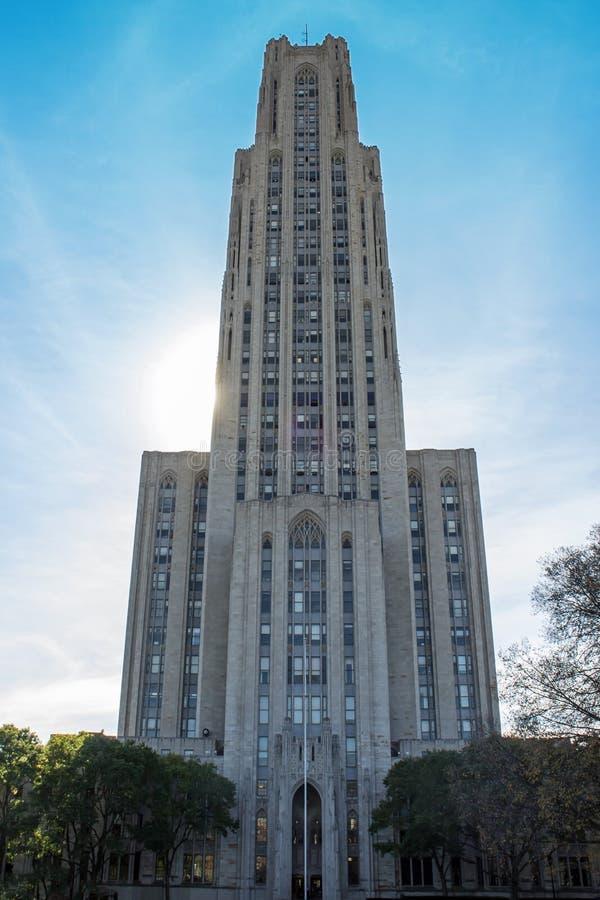 Kathedrale des Lernens der Front stockfotografie