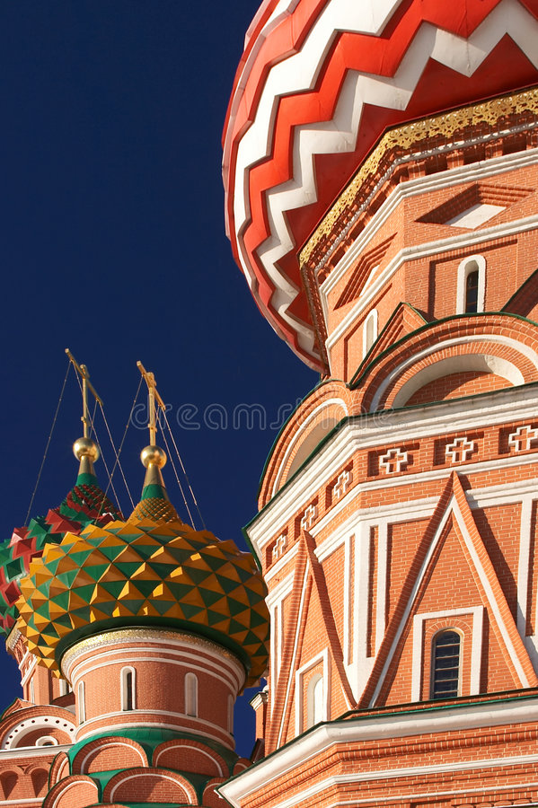 Kathedrale des Str.-Basilikums lizenzfreie stockfotos