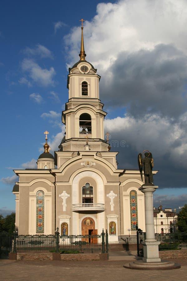 Kathedrale in Donetsk/in Ukraine lizenzfreie stockbilder