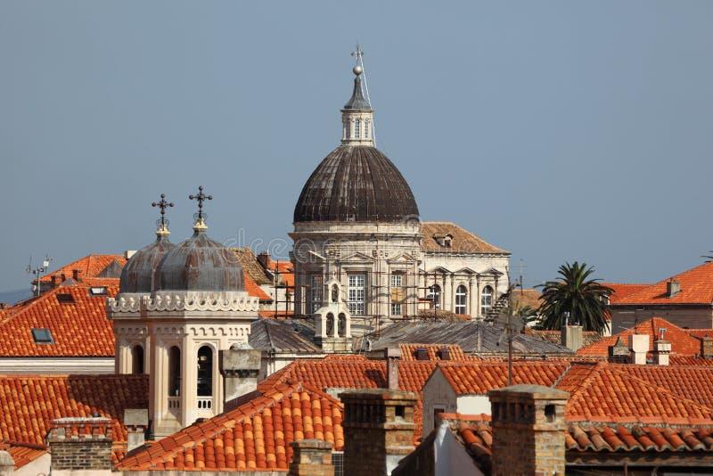 Kathedrale in Dubrovnik stockfotografie