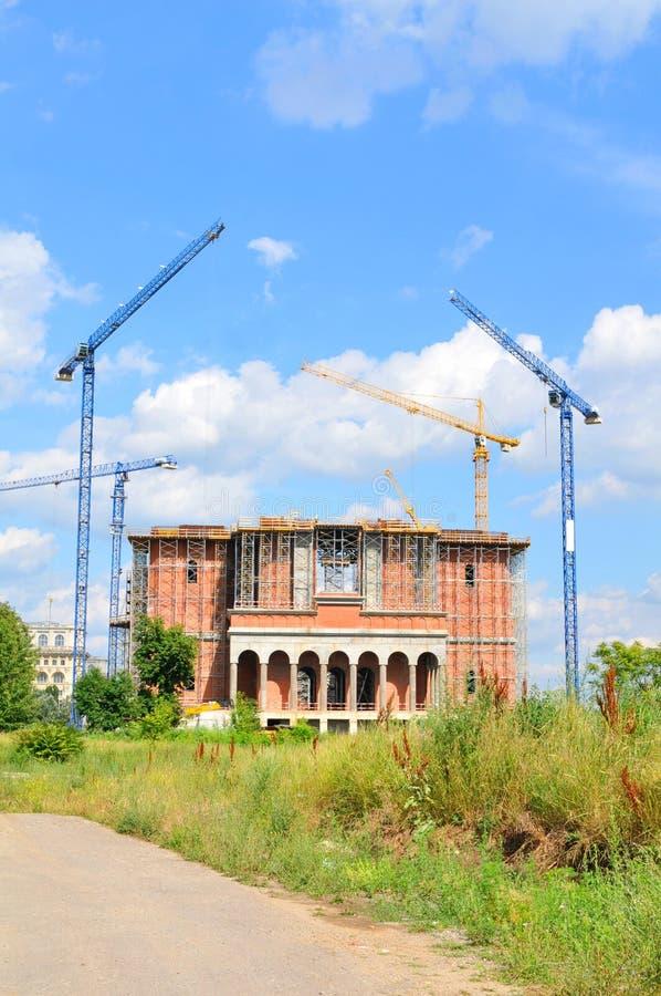 Kathedrale für die Rettung der rumänischen Leute lizenzfreie stockbilder