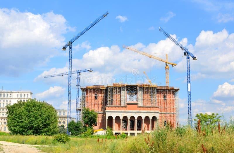 Kathedrale für die Rettung der rumänischen Leute stockbilder