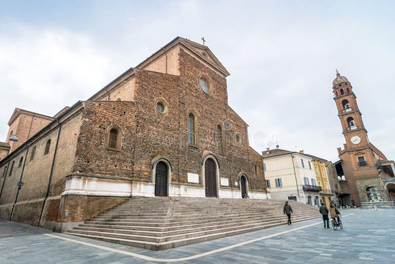 Kathedrale in Faenza, Italien lizenzfreies stockfoto