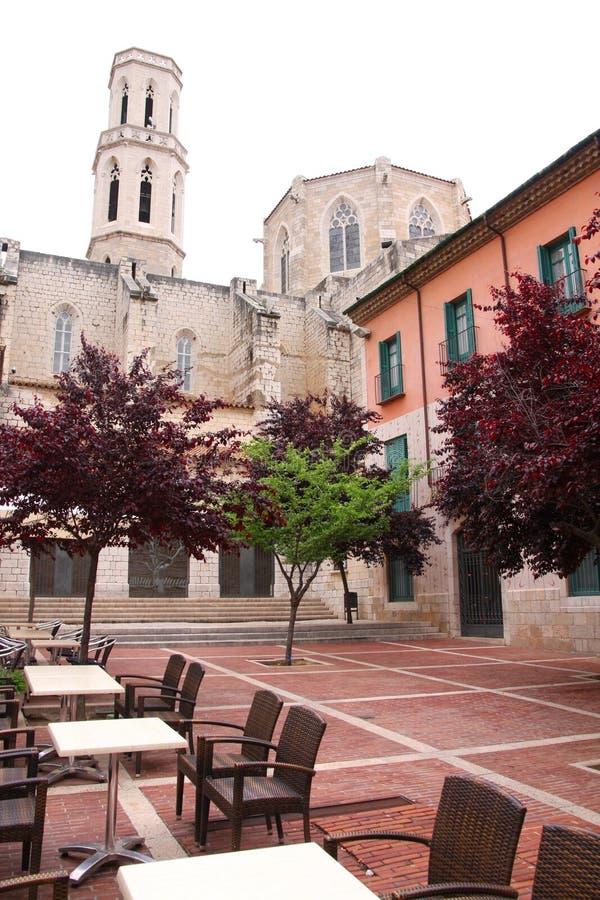 Kathedrale in Figueres, Spanien lizenzfreie stockfotos