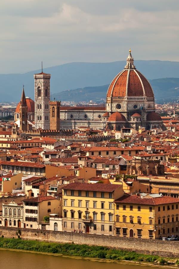 Kathedrale in Florenz. lizenzfreies stockbild