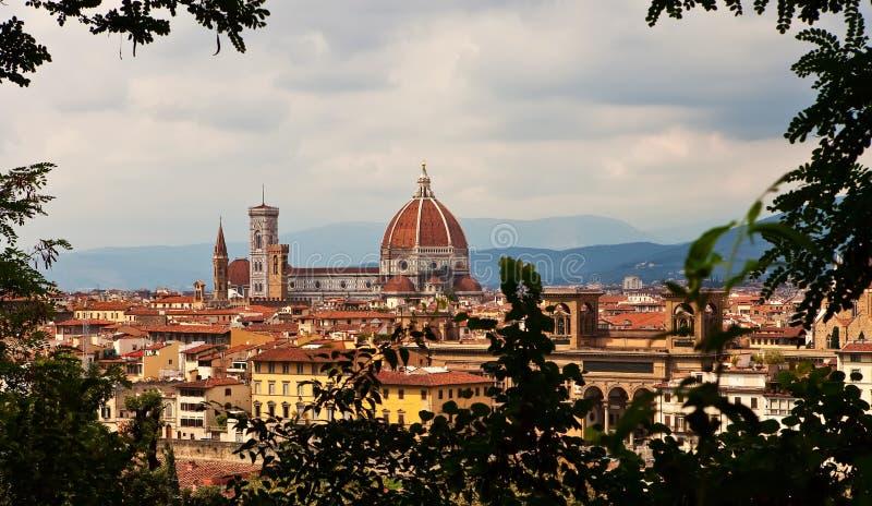 Kathedrale in Florenz. stockfotos