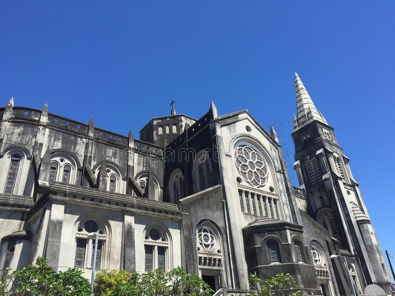 Kathedrale in Fortaleza stockfoto