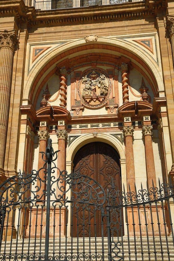 Kathedrale, Histiric-Gebäude, Màlaga, Spanien stockfotos