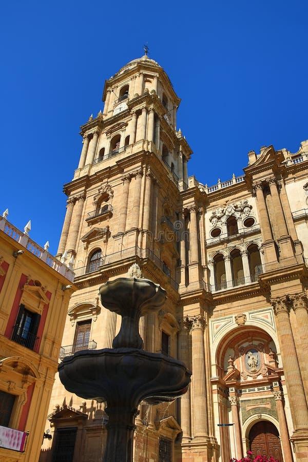 Kathedrale, Histiric-Gebäude, Màlaga, Spanien stockbild