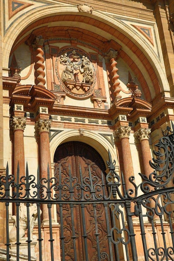 Kathedrale, Histiric-Gebäude, Màlaga, Spanien lizenzfreies stockbild