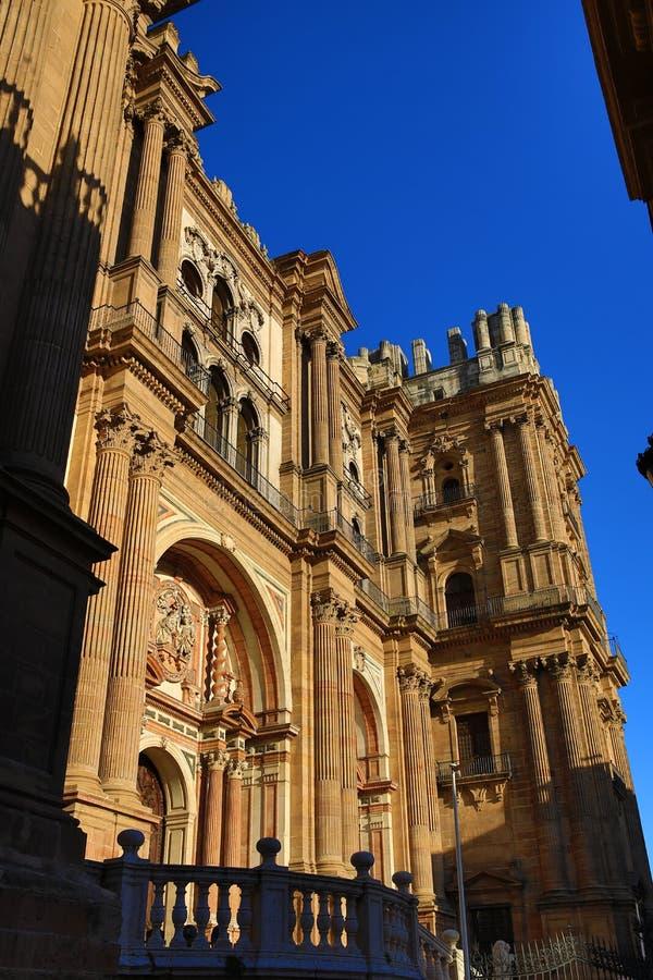 Kathedrale, Histiric-Gebäude, Màlaga, Spanien stockfoto