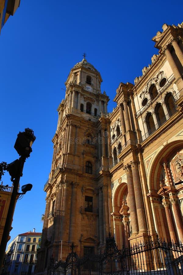Kathedrale, Histiric-Gebäude, Màlaga, Spanien lizenzfreie stockbilder