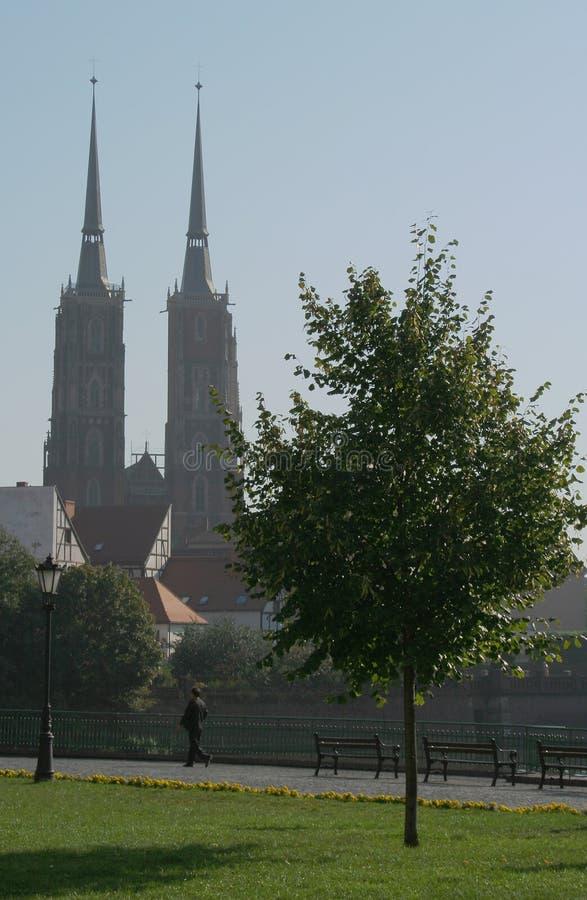 Kathedrale-Insel lizenzfreie stockbilder