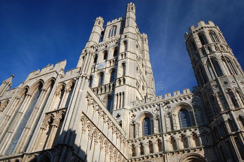 Kathedrale-Kirche Ely, England stockbilder