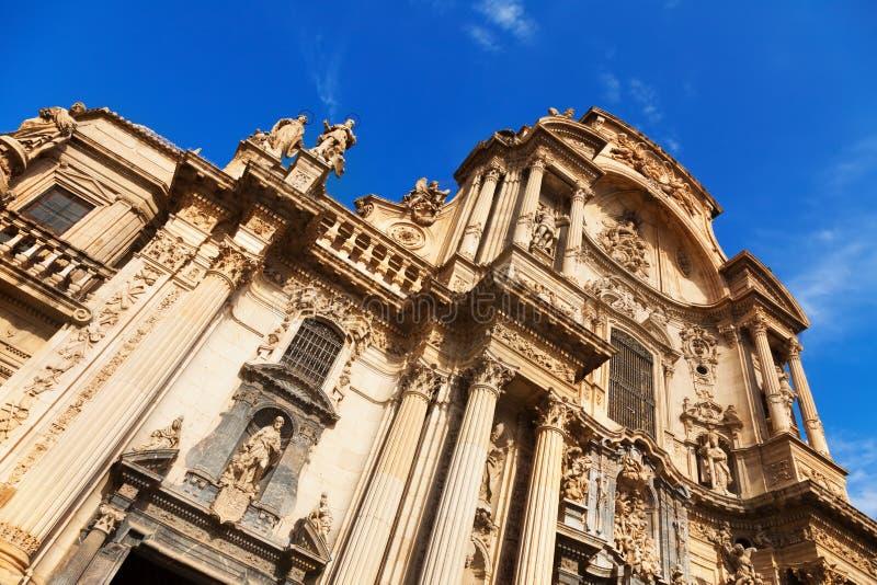 Kathedrale-Kirche von Heiligem Mary in Murcia lizenzfreie stockfotos