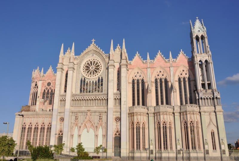 Kathedrale Leon Mexiko stockbilder