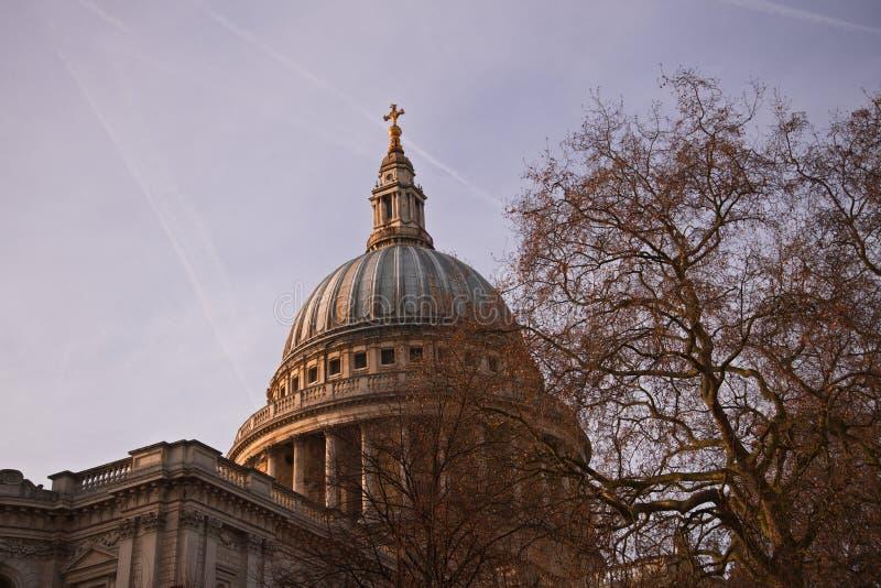 Kathedrale London Str lizenzfreies stockfoto
