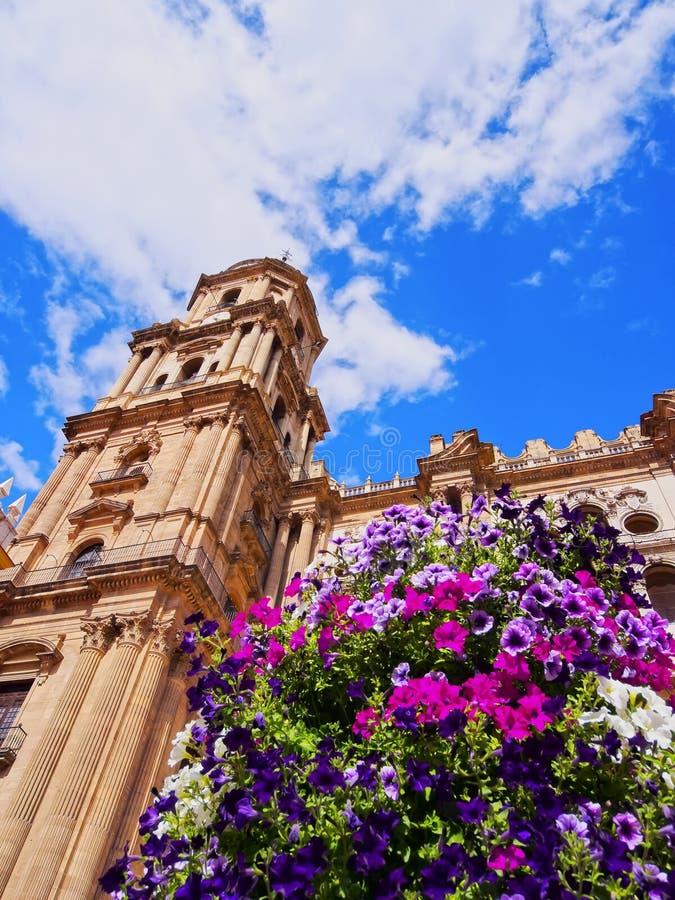 Kathedrale in Màlaga, Spanien stockfotos