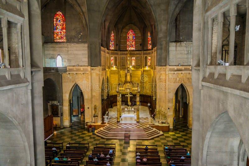 Kathedrale in Manizales, Kolumbien lizenzfreies stockbild