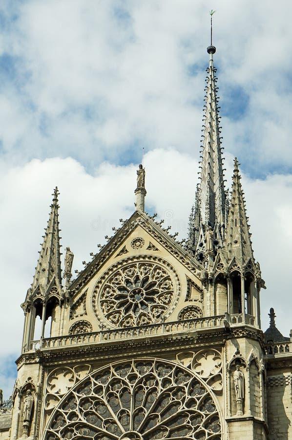 Kathedrale-Notre-Dame de Paris lizenzfreies stockfoto