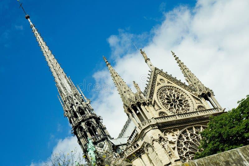 Kathedrale-Notre-Dame de Paris lizenzfreie stockfotografie