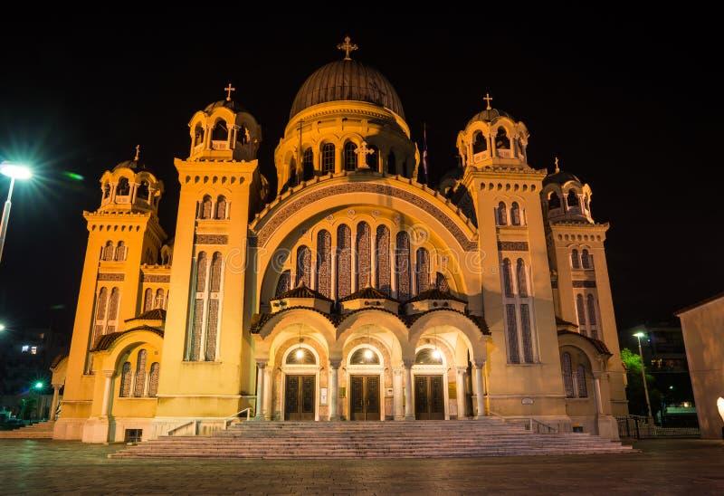 Kathedrale, Patras, Peloponnes, Griechenland stockfotos