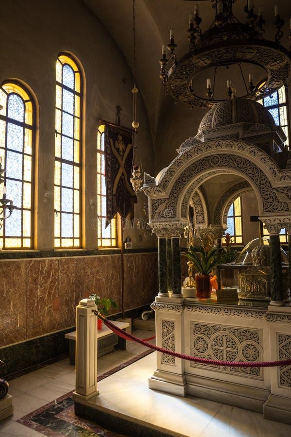 Kathedrale, Patras, Peloponnes, Griechenland lizenzfreies stockfoto