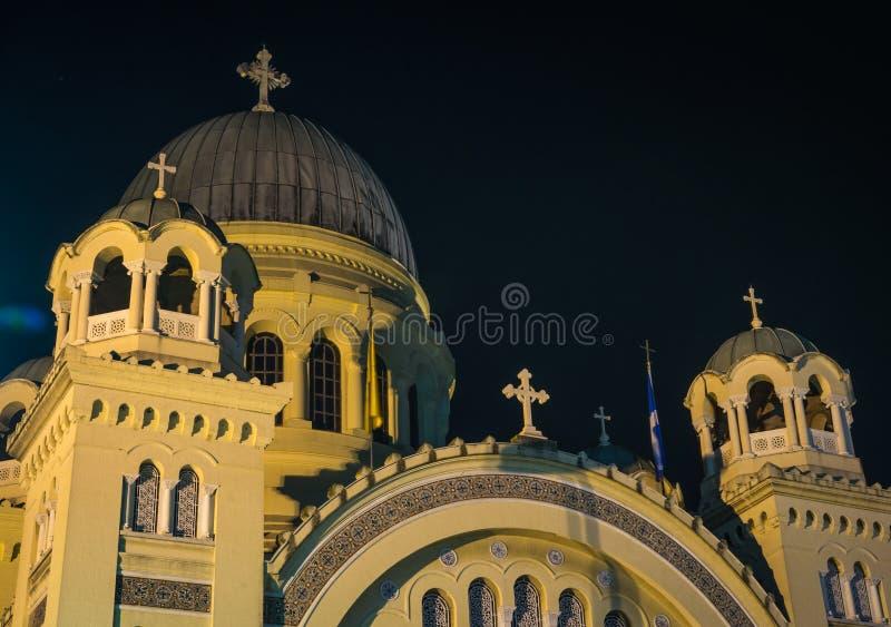 Kathedrale, Patras, Peloponnes, Griechenland lizenzfreies stockbild