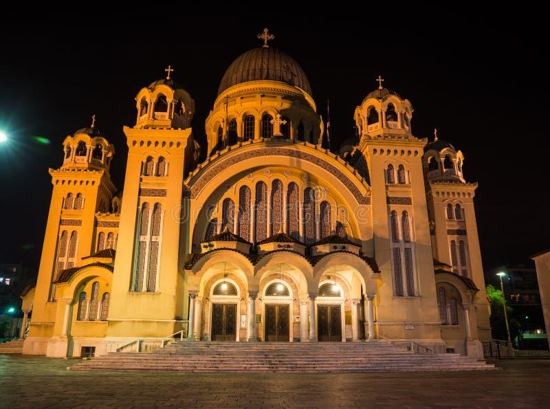 Kathedrale, Patras, Peloponnes, Griechenland lizenzfreie stockfotografie