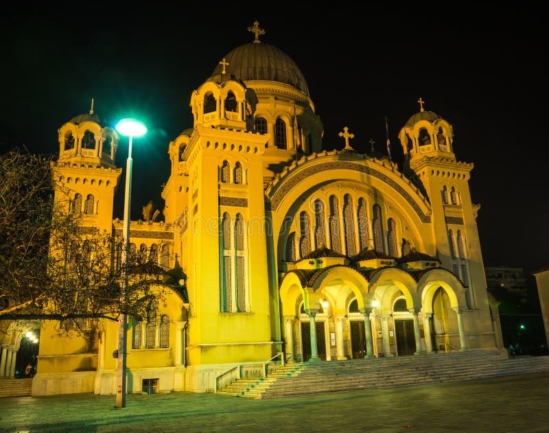 Kathedrale, Patras, Peloponnes, Griechenland stockfotografie