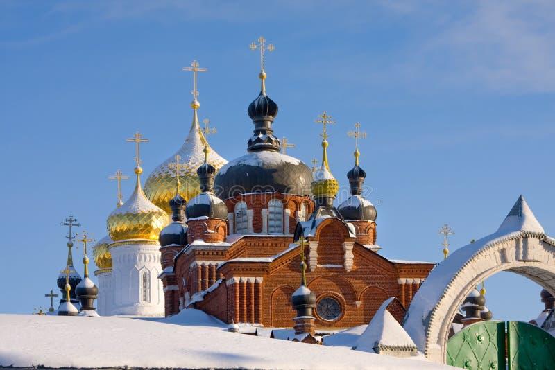 Kathedrale in Russland lizenzfreie stockbilder