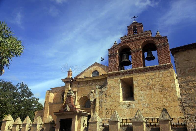 Kathedrale in Santo Domingo ist ein Architekturmarkstein stockfotos