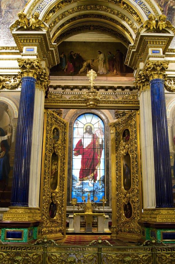 Kathedrale St. Isaacs stockfotografie