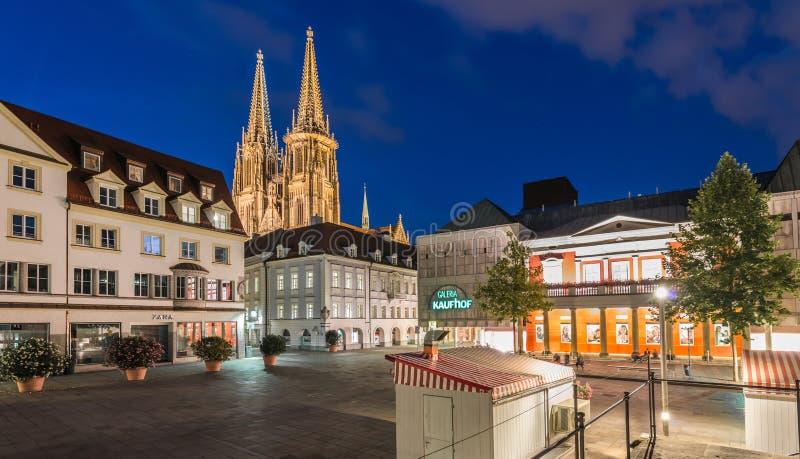 Kathedrale St Peter in Regensburg stockfotografie