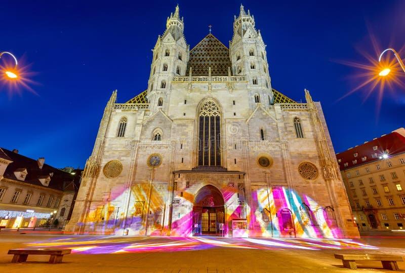 Kathedrale St. Stephan in Wien lizenzfreie stockfotografie