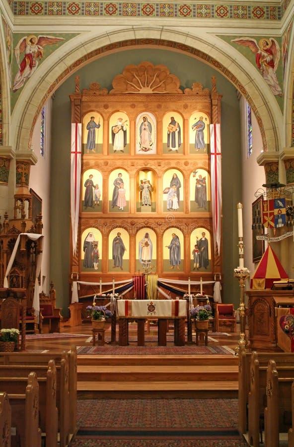 Kathedrale Str.-Francis stockbild