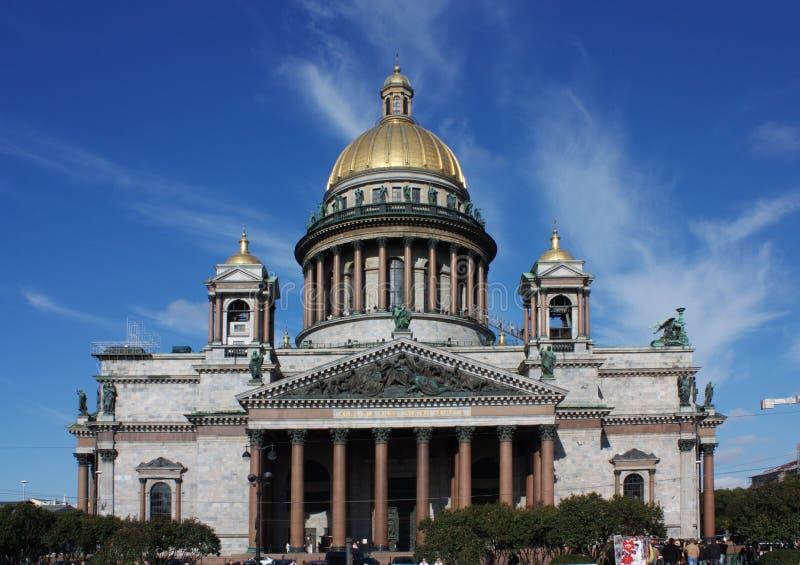 Kathedrale Str.-Isaac lizenzfreie stockfotos